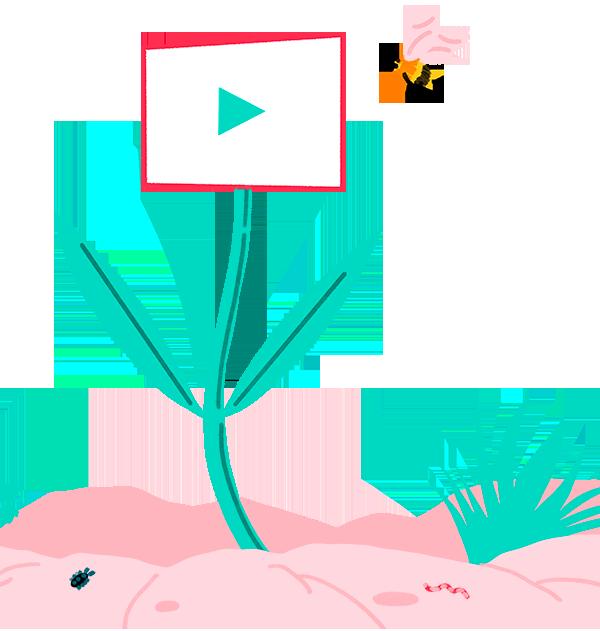 Fleur illustration by Fresh Organic Motion